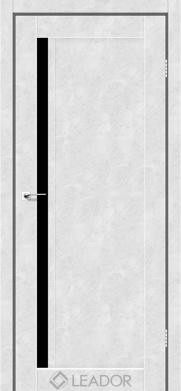 Двери Leador TOSKANA Белый бетон BLK