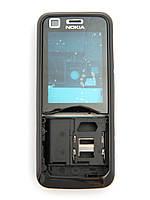13767c086ea49 Корпус для Nokia 6120 classic, High Copy, Черный /панель/крышка/накладка