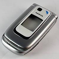 Корпус для Nokia 6131, High Copy, серебристый /панель/крышка/накладка /нокиа