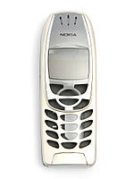 Корпус для Nokia 6310, 6310i, AAA Class, High Copy, Песочный с серым /панель/крышка/накладка /нокиа
