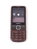 Корпус для Nokia 6700 classic с клавиатурой, High Copy, бронзовый /панель/крышка/накладка /нокиа