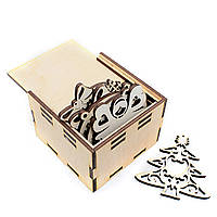 Игрушки новогодние с коробкой