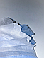 Медицинская маска хирургическая штампованная трехслойная, с зажимом для носа, сертификат (150 штук), фото 3