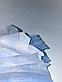 Медицинская маска хирургическая штампованная трехслойная, с зажимом для носа, сертификат (200 штук), фото 3