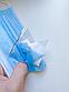 Медицинская маска штампованная трехслойная с мельтблауном и зажимом для носа, сертификат (50 штук), фото 3