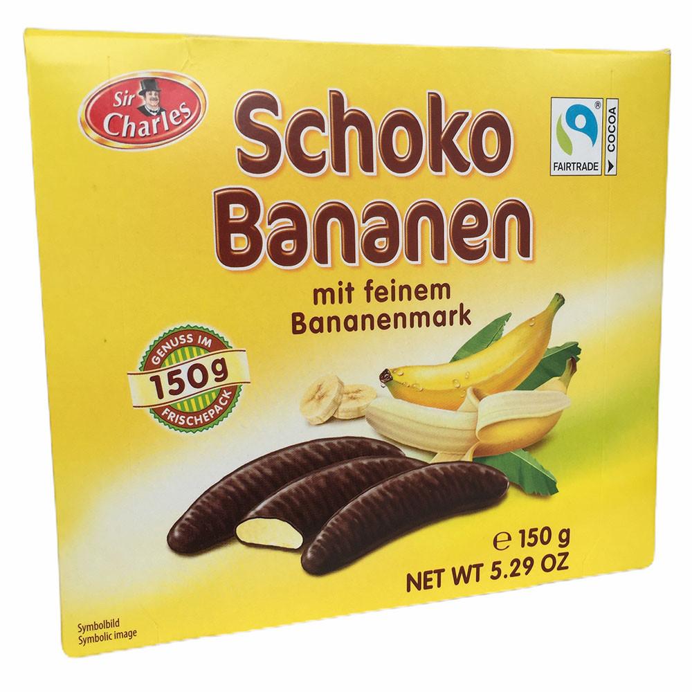 Шоколадные конфеты с банановым суфле Sir Charles Schoko Bananen