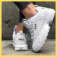 Кроссовки Fila Disruptor 2 Full White (Белый)