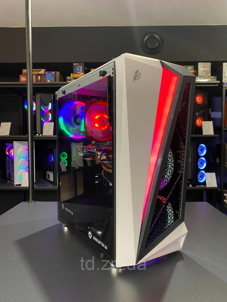 Игровой компьютер Intel Core i5-3470   RX 470 4Gb   RAM 8Gb   HDD 500gb   SSD 120Gb