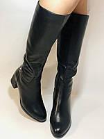 Натуральне хутро. Зимові чобітки на вузьку ногу. Натуральна шкіра. Люкс якість. Erisses. Р. 37-40, фото 3