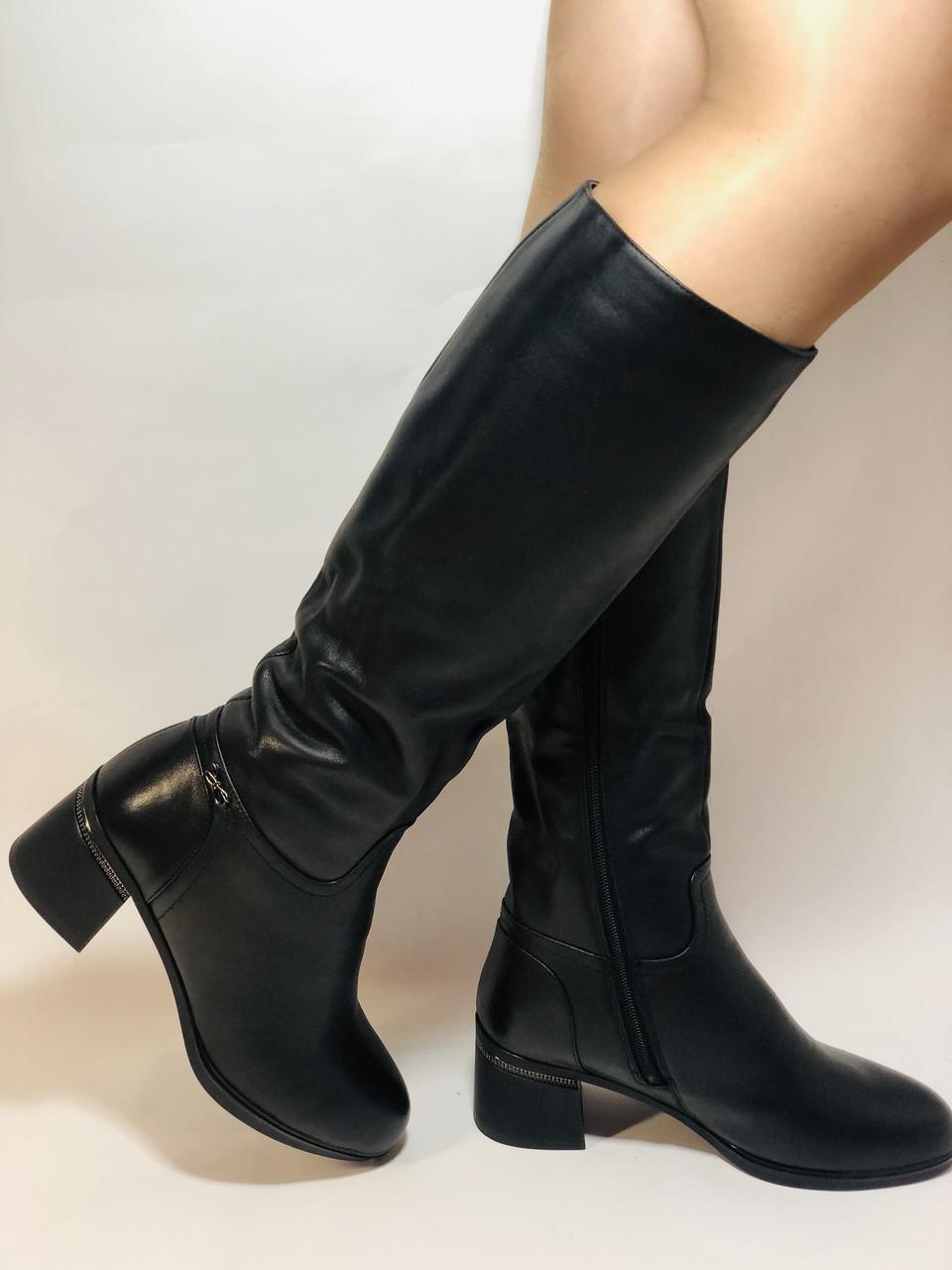 Натуральне хутро. Зимові чобітки на вузьку ногу. Натуральна шкіра. Люкс якість. Erisses. Р. 37-40