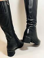 Натуральне хутро. Зимові чобітки на вузьку ногу. Натуральна шкіра. Люкс якість. Erisses. Р. 37-40, фото 7