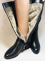 Натуральне хутро. Зимові чобітки на вузьку ногу. Натуральна шкіра. Люкс якість. Erisses. Р. 37-40, фото 5