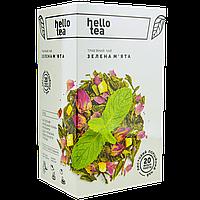 Чай Hello tea Mint green  (1уп/20шт) Мята, фото 1