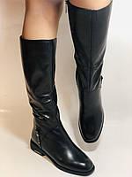 Erisses.Зимние сапоги на натуральном меху на низком каблуке. Натуральная кожа. Люкс качество.  Р. 37.40., фото 7