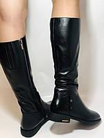 Erisses.Зимние сапоги на натуральном меху на низком каблуке. Натуральная кожа. Люкс качество.  Р. 37.40., фото 3