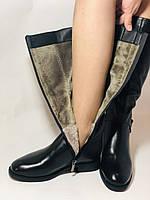 Erisses.Зимние сапоги на натуральном меху на низком каблуке. Натуральная кожа. Люкс качество.  Р. 37.40., фото 8