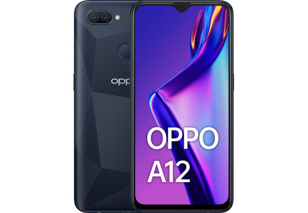 Смартфон OPPO A12 3/32GB Black Mediatek MT6765V/CB Helio P35 4230 мАч