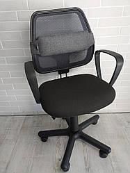 Поперековий упор для спини EKKOSEAT для офісного крісла. Ортопедичний. Універсальний.