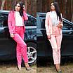 Женский костюм делового стиля двойка пиджак и брюки, фото 2
