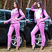 Женский костюм делового стиля двойка пиджак и брюки, фото 4