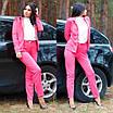 Женский костюм делового стиля двойка пиджак и брюки, фото 7