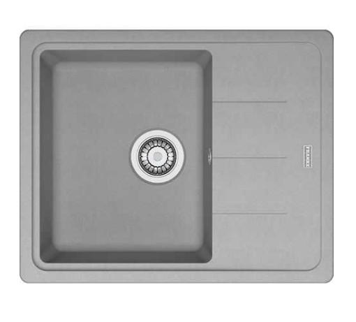 Мойка кухонная гранитная Franke Basis BFG 611-62 (114.0565.090) серый камень
