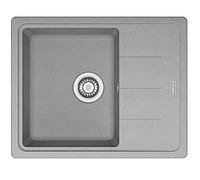 Мойка кухонная гранитная Franke Basis BFG 611-62 (114.0565.090) серый камень, фото 1