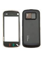 Корпус для Nokia N97, High Copy, черный /панель/крышка/накладка /нокиа