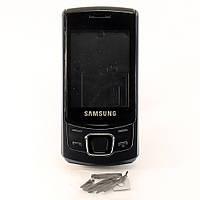 Корпус для Samsung C6112 Duos, с клавиатурой, High Copy, Черный /панель/крышка/накладка /самсунг