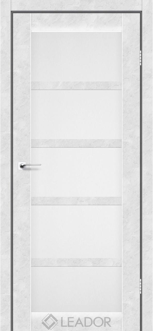Двери Leador VENETO Белый бетон ПО