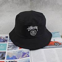 Панама Bucket Hat Stussy Черная