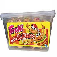 Жевательные конфеты Мини Бургер Trolli - 1 шт