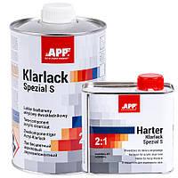 Лак специальный акриловый APP с отвердителем, 2К HS Klarlack Spezial S 2:1, 1l+0,5l, 020109