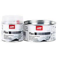 """Шпаклівка для пластмаси з затверджувачем """"Flex"""", APP, 1,8 kg, 010447"""