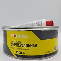 Шпаклівка універсальна, з затверджувачем, Polfill, 1kg