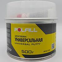 Шпаклівка універсальна, з затверджувачем, Polfill, 500g