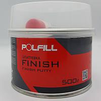 Шпаклівка фінішна, з затверджувачем, Polfill, 500g