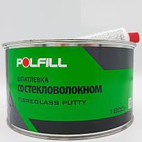 Шпаклівка зі скловолокном, з затверджувачем, Polfill, 1,8 kg
