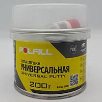 Шпаклівка універсальна, з затверджувачем, Polfill, 200g