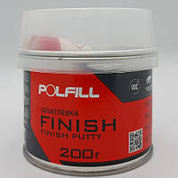 Шпаклівка фінішна, з затверджувачем, Polfill, 200g