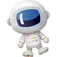 Фол шар фигура Космонавт (Qualatex)