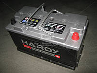 Аккумулятор 100Ah-12v HARDY SP (353x175x190) ПРАВЫЙ+, пусковой ток 800