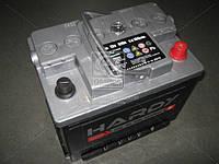 Аккумулятор 62Ah-12v HARDY SP (242x175x190) ПРАВЫЙ+, пусковой ток 510