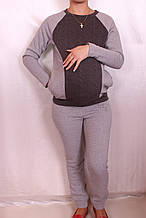 Утепленный спортивный костюм для беременных(R)