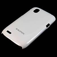 Чехол-накладка для HTC Desire V, Desire U, Desire X, T328w, T327w, пластиковый, Buble Pack, белый /case/кейс, фото 1