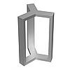 Подстолье для стола из металла 1092
