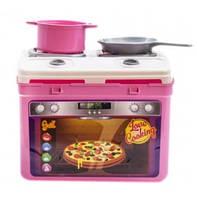 """Игровой набор посуды с газовой плитой. Детская игрушечная посуда """"Адель"""" МАЛ Орион 816OR-MAL"""