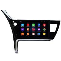 """Штатная автомобильная 10"""" магнитола Toyota Corolla (2017-2018 г.в.) 1/16 GPS Wi Fi Android 6 (4781-14728)"""