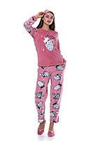 Женская домашняя пижама на зиму 2021