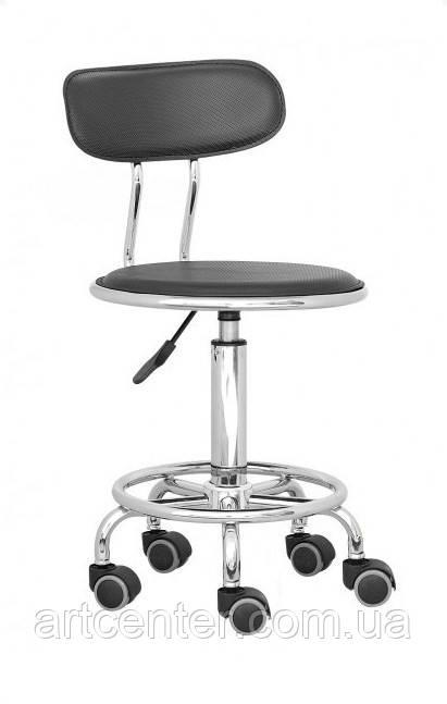 Кресло для парикмахера, кресло для офиса, кресло для кассира (БЭЙСИК черный)